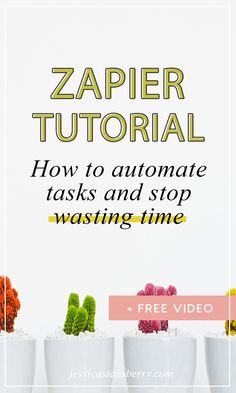 In this Zapier Tutor