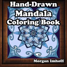 Introducing HandDrawn Mandala Coloring Book. Great Product and follow us to get more updates!