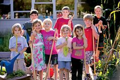 First to Harvest: reading, writing, and gardening is all elementary.