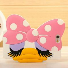 Cute big head Duckie iphone case