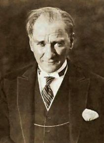 Mustafa K. Atatürk, firs president and former of the Republic of Turkey is still considered the most important Turkish person for most Turks. Statues, pictures and his signiture can be found in every household.