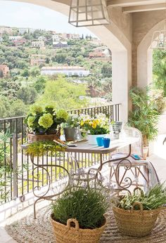 Un estar abierto al paisaje · ElMueble.com · Casa sana