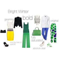 """Bright Winter - and excercise"" by silverwild on Polyvore"