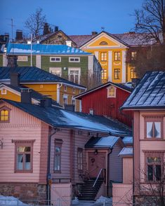Porvoo Beautiful Places, Mansions, House Styles, Pictures, Photos, Home Decor, Exterior, Travel, Art