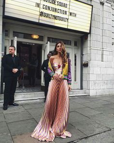 Negin Mirsalehi looking oh-so elegant and cool in Gucci.