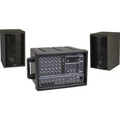 The EMX62M AS108 seems like a really awesome speaker and audio set. It has 6 channels and 2 way acoustic suspension. http://www.musiciansfriend.com/pro-audio/yamaha-emx62m-as108-ii-pa-package
