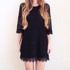 black lace dress offers welcome size small black lace dress with see through sleeves. •450041• Divided Dresses Long Sleeve