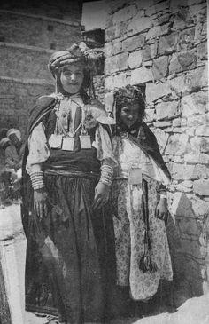 Jeunes femmes chaouïa de l'Aurès
