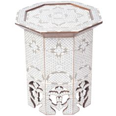 Mother of Pearl Side Table Syria