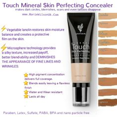 Skin Perfecting Concealer.... Conceals and restores balance.... www.beyouniquewit...