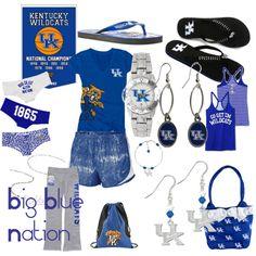 Kentucky Wildcats!! Love them!