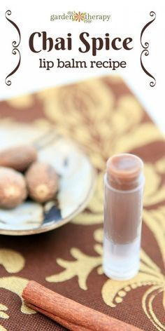 Chai spice lip balm is filled with spices that wake you up and make your lips tingle. This recipe is spicy and will encourage blood flow to the lips, making them fuller and rosy.