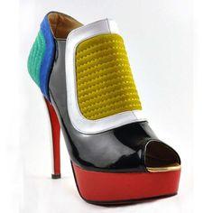 #ChristianLouboutin #Futura #Bottines #Multicouleur #talons #femme #chaussures #shoes #fashion  #chaussuresfemme #shopping #inspiration #shopping #kinsella #sophiekinsella #pocket #belfond #accrodushopping #becky