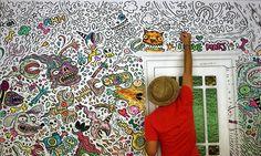 Tolle Tapenten zum ausmalen und weitere Ideen und Inspirationen für Ihre Wandgestaltung.