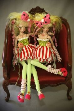 Disformed Doll Colors