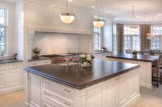 Honed Virginia Mist Granite looks like soapstone  Design Ideas, Pictures, Remodel and Decor