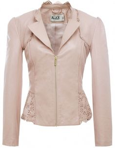 Alice by Temperley Leather Libre Jacket