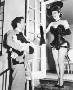 Burlesque dancer Gypsy Rose Lee 1945