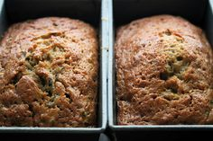 A quick bread made with brown sugar, eggs, and oil, this moist zucchini bread makes a wonderful addition to breakfast or afternoon tea all summer long!