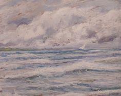 sea - watercolor