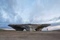 Architects Built This Monumental Land Art By Imitating Geological Processes   Co.Design   business + design