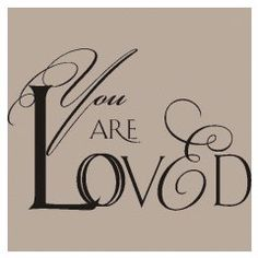 You are loved custom vinyl wall lettering for the special people in your life whom you want to remind that you love them everyday. applies easily and is removable. Lets Make A Baby, Wall Transfers, Letter Wall, Wall Treatments, Wall Quotes, Vinyl Wall Decals, Wall Design, Love You, Master Bedroom