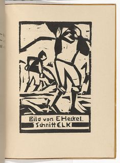 Ernst Ludwig Kirchner (German, 1880–1938) Sand Diggers at the Tiber River (Sandgräber am Tiber) (plate, folio 13) from KG Brücke
