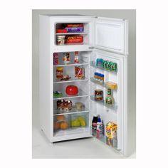 Avanti RA7306WT Apartment-size White Refrigerator/ Freezer by ...