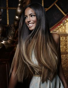 Great Lengths Hair Extensions - Really like the color on these extensions.