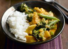 Thai Tenderstem and Pumpkin Red Curry Recipe : Cook Vegetarian Magazine