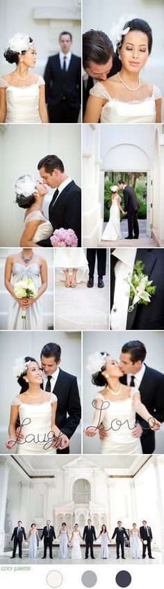 Sweetly sophisticated couple in classic wedding style, Caroline Tran Photography