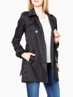 Trench-coat court LH BY LA HALLE