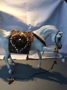 Model Horse Tack by Yerlin -New Arabian Set
