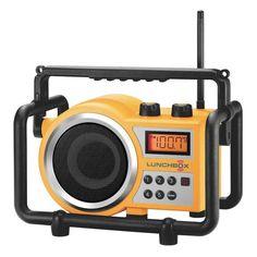 Sangean Lunchbox Compact FM / AM Ultra Rugged Radio Receiver