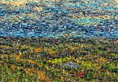 Studio Artist - Factory Settings - Mosaic Movie Brush - Smooth Cellular City Photo, Mosaic, Smooth, Studio, Artist, Mosaics, Artists, Studios, Mosaic Art