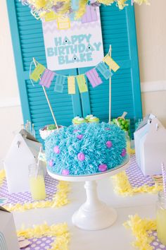 Monsters Inc. Inspired Birthday Party Decor