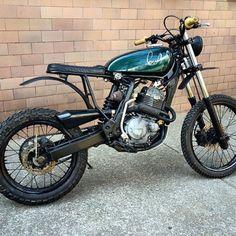 Street Tracker #motorcycles #streettracker #motos | caferacerpasion.com