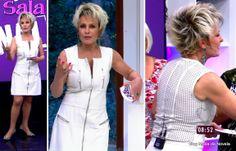 Look da Ana Maria Braga no Mais Você dia 9 de maio