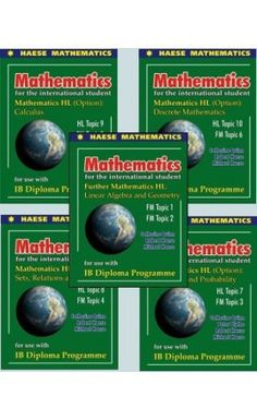 These books are published as a companion to the Haese Mathematics Mathematics HL CORE textbook. Each Topic has undergone a thorough review, taking into consideration syllabus changes and teacher feedback. ISBN: 9781921972362