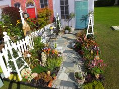 Picture from http://www.johncavilldesign.co.uk/Shows.html Harrogate Show Garden Autumn 2015 called Quirky Cottage Garden!