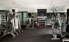 New Construction in Emerald Bay contemporary home gym