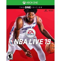NBA LIVE 19 new basketball sim from EA Sports has been released for and Xbox One. Nba Live, Basketball Games, Sports Games, Basketball Court, Basketball Scoreboard, Soccer, Sport Motivation, Motivation Quotes, News Games