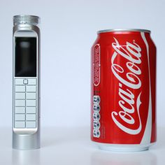 """Eco-Friendly"" Mobile Phone Runs on Coke : TreeHugger"