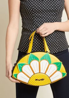 Banned Here Comes the Sunflower Handbag