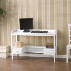 Tv Konsolen, Weiß Schreibtisch, Weiß Schreibtische, Schubladen, Kleine  Schlafzimmer, Kleinem Raum, Arbeitsbereiche, Office Makeover, The Low