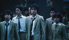 Tatsuya Fujiwara in Battle Royale