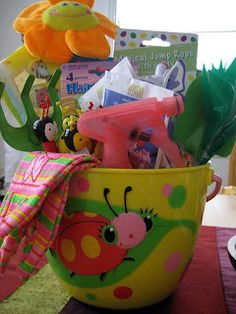 Ideas other than candy for Easter baskets