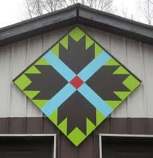 bear paw barn quilt block - Google Search