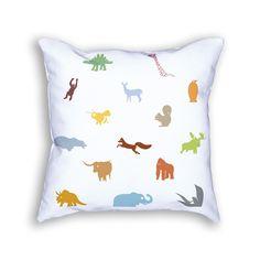Items similar to Animal Pillow - Nature Throw Pillow - Rainbow Pillow - Animal Cushion - Decorative Pillow - Animal Decor - Fun Pillow - Kids Room on Etsy Animal Cushions, Unique Toys, Kid Furniture, Best Pillow, Animal Decor, Decorative Pillows, Kids Room, Rainbow, Throw Pillows