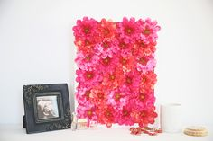 Make This Dreamy Floral Artwork in Minutes via Brit + Co.